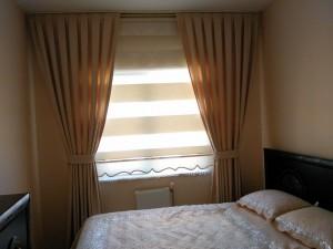 Yatak Odası Stor Perde